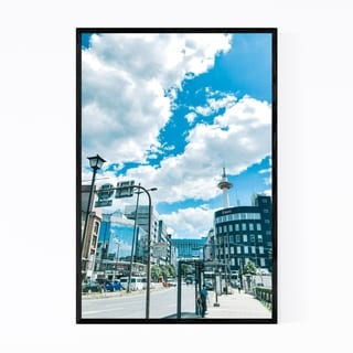Noir Gallery Kyoto Japan Street Photography Framed Art Print