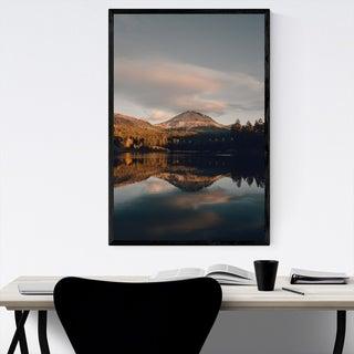 Noir Gallery Lassen Volcanic Park California Framed Art Print
