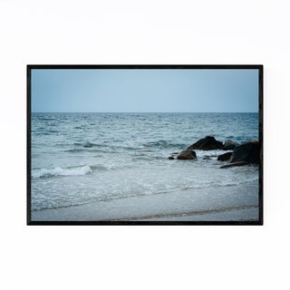 Noir Gallery Cape Cod Beach Ocean Coastal Framed Art Print