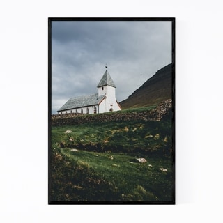 Noir Gallery Faroe Islands Landscape Nature Framed Art Print