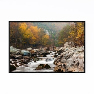 Noir Gallery Bulgaria Mountains Autumn Framed Art Print