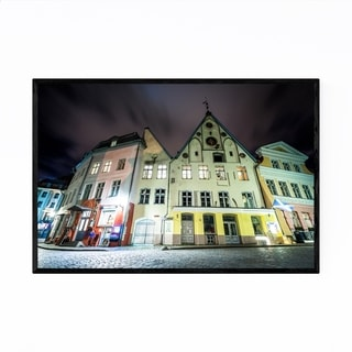 Noir Gallery Tallinn Estonia Old Town Framed Art Print