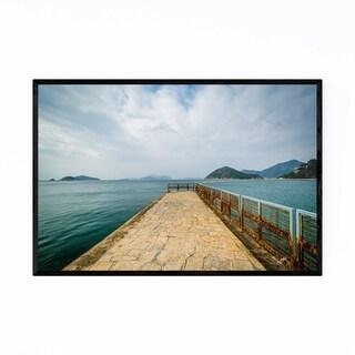 Noir Gallery Hong Kong Pier at Repulse Bay Framed Art Print