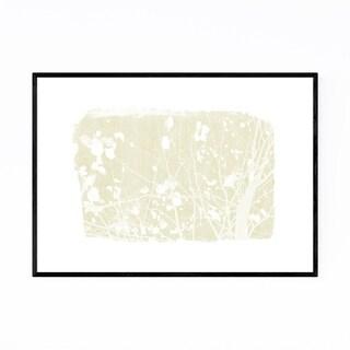 Noir Gallery Yellow Nature Botanical Tree  Framed Art Print