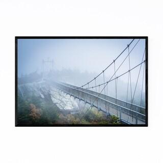 Noir Gallery Grandfather Mountain Bridge Framed Art Print
