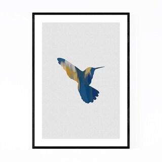 Noir Gallery Floral Botanical Bird Animal Framed Art Print