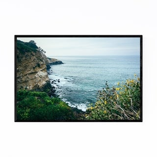 Noir Gallery La Jolla California Cliffs Framed Art Print