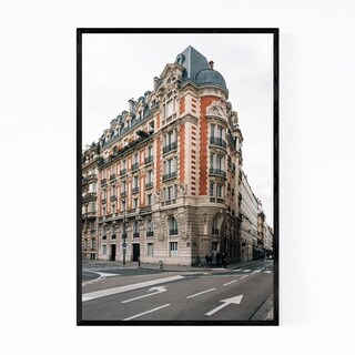 Noir Gallery Paris France City Architecture Framed Art Print