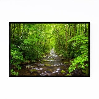 Noir Gallery Great Smoky Mountains River Framed Art Print