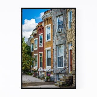 Noir Gallery Hampden Baltimore Maryland Framed Art Print