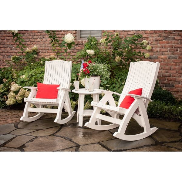 Wondrous Shop Outdoor Comfort Rocking Chair Recycled Plastic Free Unemploymentrelief Wooden Chair Designs For Living Room Unemploymentrelieforg