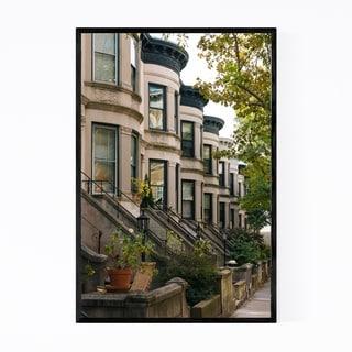 Noir Gallery Park Slope Brooklyn New York NYC Framed Art Print