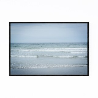 Noir Gallery Atlantic Ocean Beach Coastal Framed Art Print