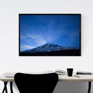 Noir Gallery Mount Rainier Washington Nature Framed Art Print