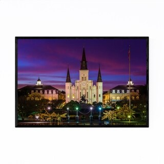 Noir Gallery St. Louis Cathedral New Orleans Framed Art Print
