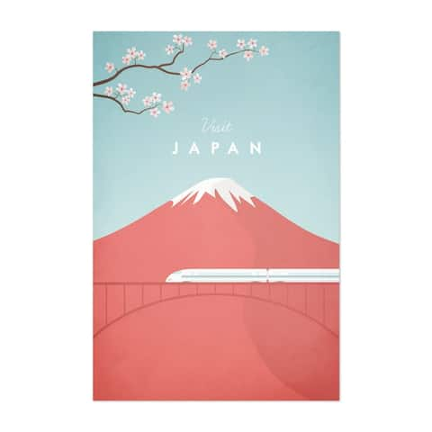 Noir Gallery Minimal Travel Poster Japan Unframed Art Print/Poster