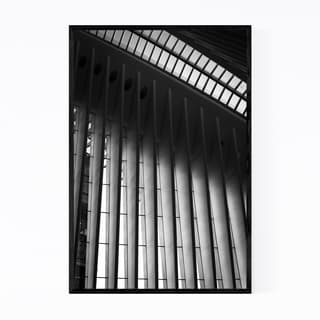Noir Gallery Oculus New York Architecture  Framed Art Print
