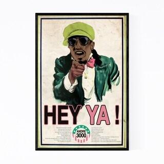 Noir Gallery Outkast Music Hip Hop Rappers Framed Art Print
