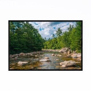 Noir Gallery White Mountains NH Swift River Framed Art Print