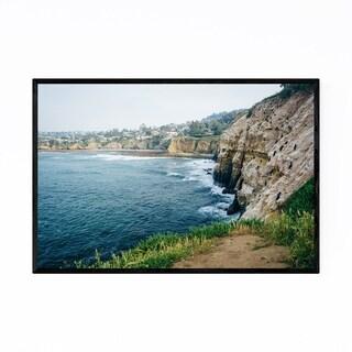 Noir Gallery La Jolla California Coastal Framed Art Print