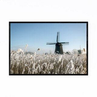 Noir Gallery Winter Rustenburg Netherlands Framed Art Print