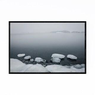 Noir Gallery Baltic Sea Finland Winter Ice Framed Art Print