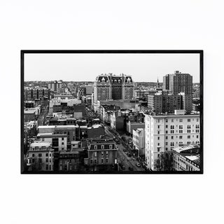 Noir Gallery Mount Vernon Baltimore Maryland Framed Art Print