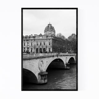 Noir Gallery Pont au Change Paris France Framed Art Print