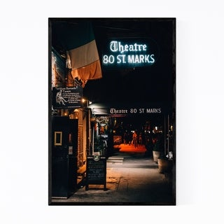 Noir Gallery East Village Theater New York Framed Art Print