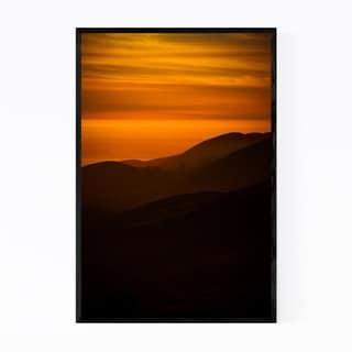 Noir Gallery San Francisco Sunset California Framed Art Print