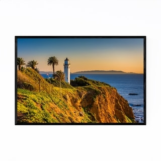 Noir Gallery Lighthouse Rancho Palos Verdes Framed Art Print