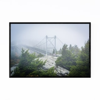 Noir Gallery Grandfather Mountain Bridge Framed Art Print