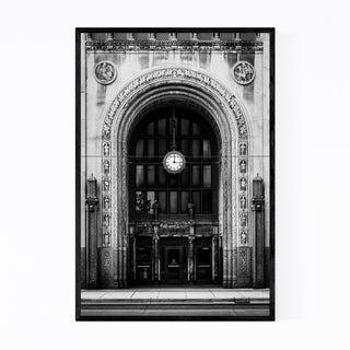 Noir Gallery Detroit Architecture Details Framed Art Print