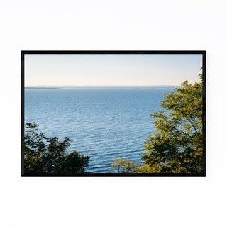 Noir Gallery Chesapeake Bay Beach Maryland Framed Art Print