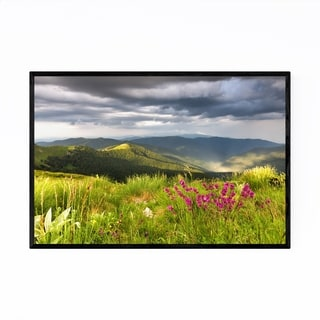 Noir Gallery Bulgaria Mountains Landscape Framed Art Print