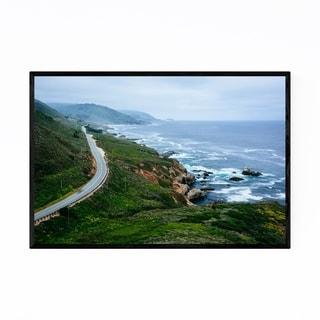 Noir Gallery Pacific Coast Highway Big Sur Framed Art Print