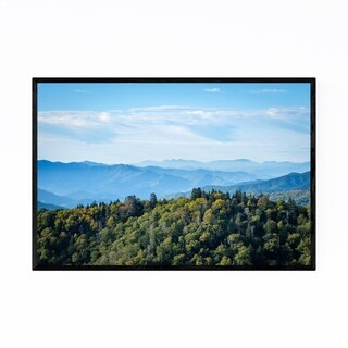 Noir Gallery Great Smoky Mountains Tennessee Framed Art Print