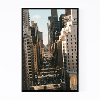 Noir Gallery Midtown Manhattan New York NYC Framed Art Print