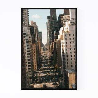 Noir Gallery Midtown Manhattan New York NYC Framed Art Print