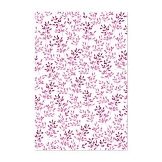 Noir Gallery Twigs Pink Pattern Floral Unframed Art Print/Poster