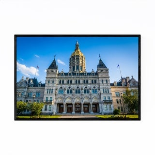 Noir Gallery Connecticut State Capitol Framed Art Print