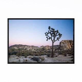 Noir Gallery Joshua Tree California Desert Framed Art Print