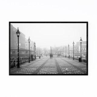 Noir Gallery Pier Fells Point Baltimore Framed Art Print