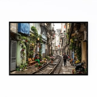 Noir Gallery Hanoi Vietnam Urban Photography Framed Art Print