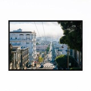 Noir Gallery Hilly Street San Francisco CA Framed Art Print