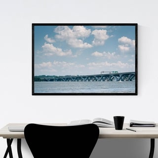 Noir Gallery Alexandria Woodrow Wilson Bridge Framed Art Print