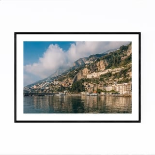 Noir Gallery Amalfi Coast Italy Photography Framed Art Print