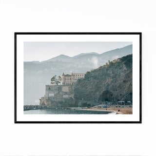 Noir Gallery Maiori Amalfi Coast Italy Photo Framed Art Print