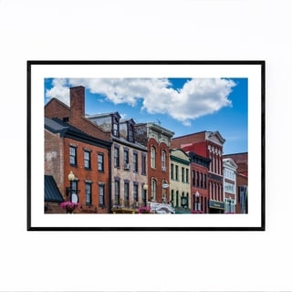 Noir Gallery Washington DC Georgetown Photo Framed Art Print