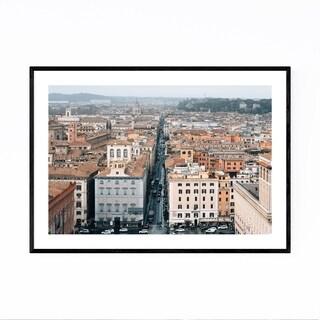 Noir Gallery Rome Italy Cityscape Photo Framed Art Print